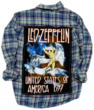 Led Zeppelin 77 Vintage Rock Flannel