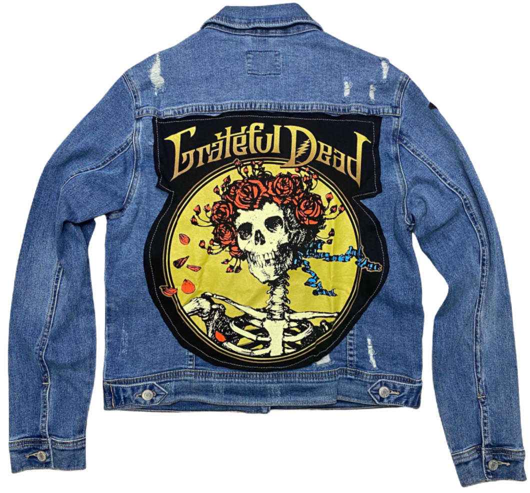 SOJARA  Grateful Dead Distressed Denim Jacket