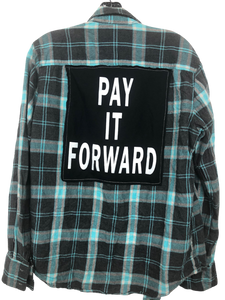 Vintage Inspire Flannel Pay it Forward