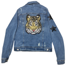 Gold Tiger Denim Jacket