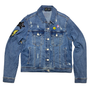 Grateful Dead Skull Denim Jacket
