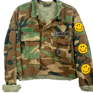 Smiley Camo Jacket