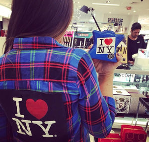 I Love New York SOJARA Vintage Flannel