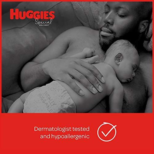 Huggies Special Delivery Hypoallergenic Diapers, Size 1 (8-14 lb.), 144 Ct, One Month Supply
