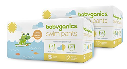 Babyganics Baby Swim Pants, 24 count, Packaging May Vary