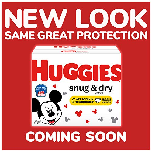 HUGGIES Snug & Dry Diapers, Size 3, 180 Count (Packaging May Vary)