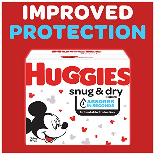 Huggies Snug & Dry Baby Diapers, Size 5, 22 Ct