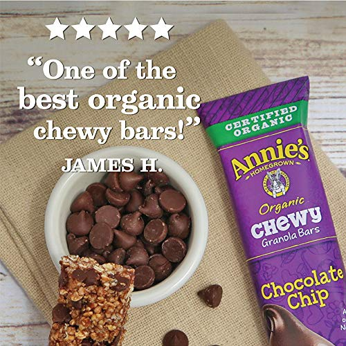 Annie's Organic Chewy Chocolate Chip Granola Bars  6 ct  (pack of 12)