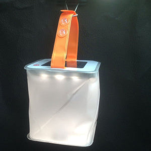 2 in 1 Solar-Powered Inflatable Lantern and Phone Charger