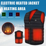 Smart Heating Vest/Thermal Coat with USB Charging