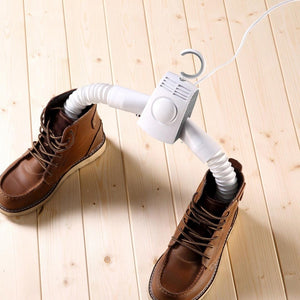 2in1 Smart Portable Clothes Hanger and Shoes Dryer