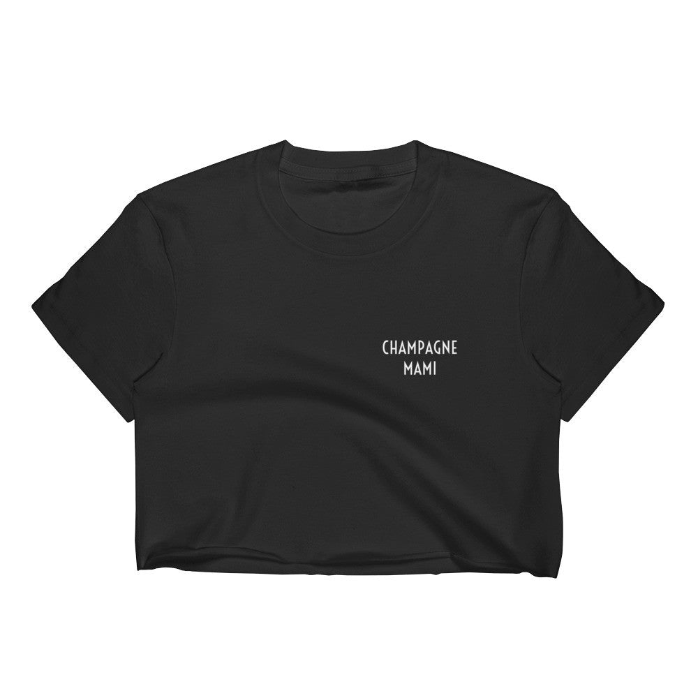 Champagne Mami Crop Top