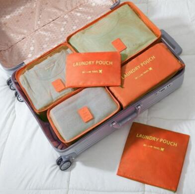 6PCS Luggage Packing Cubes