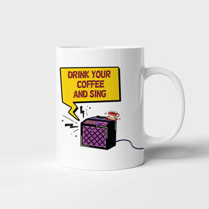 Drink your coffee and sing - moodbook