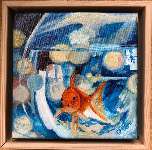 "'Living Like Fish"" at Candy Club Collective Virtual Show and Sale- NOW OPEN!"