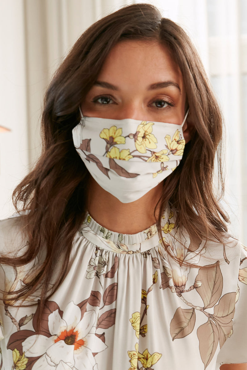 Floral Multi Face Mask