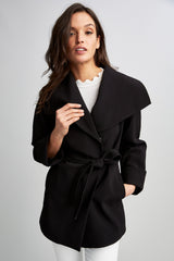 Tahari Riley Wrap Coat
