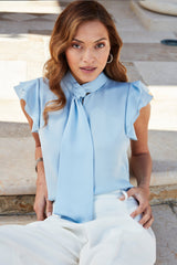 Silk Flutter Shirt