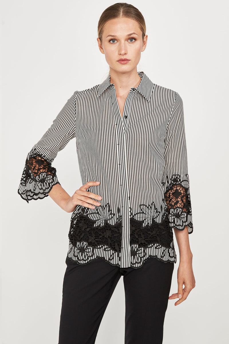 Clark Embroidered Shirt