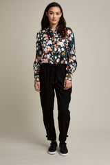 Silk Abstract Multi Shirt