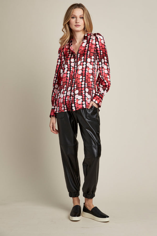 Silk Fizz Dot Shirt