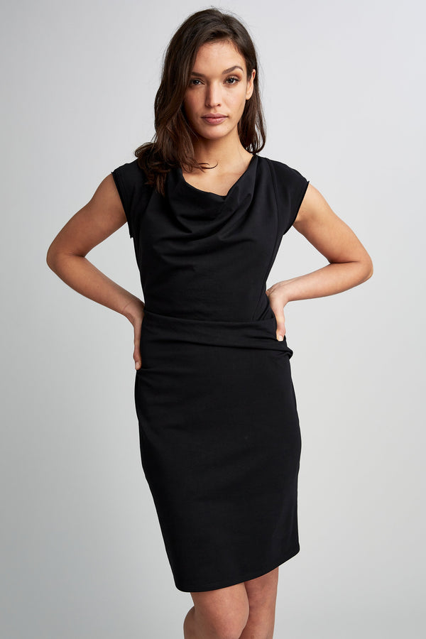Cowl Ruched Dress