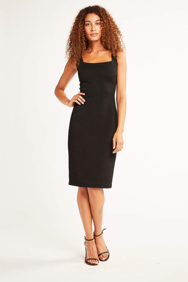Lowell Jacquard Sleeveless Dress