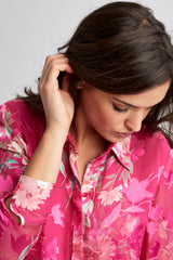 Floral Burnout Shirt