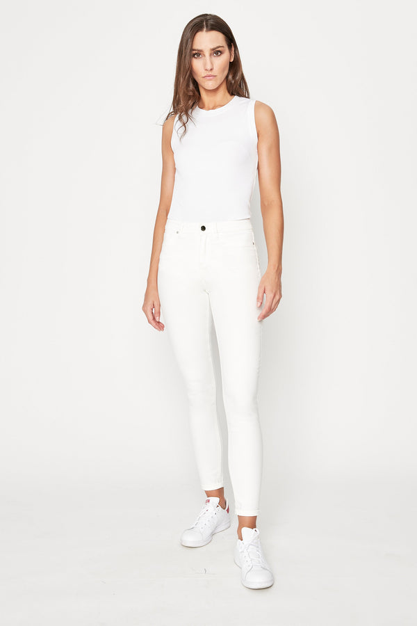 Camila Pima Cotton Ribbed Knit