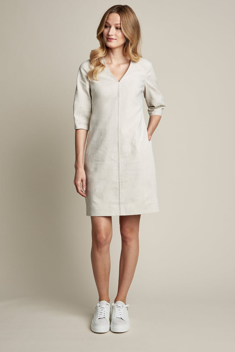 Norah V-Neck Shift Dress
