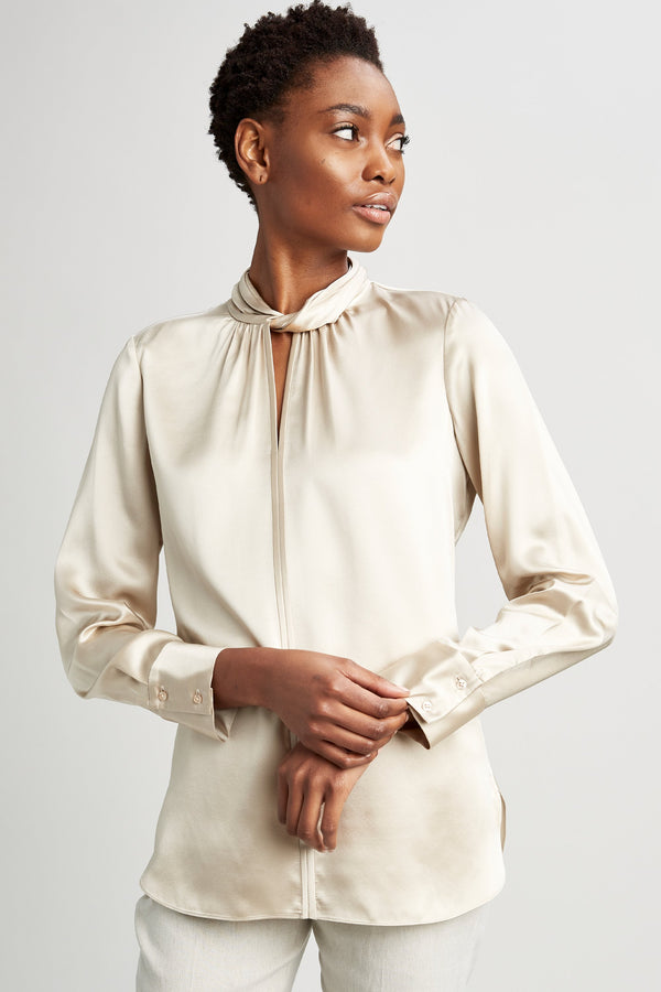 Silk Twist Shirt