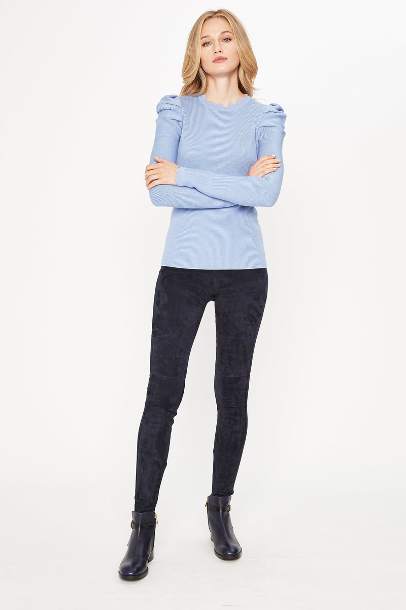 Chiara Scalloped Sweater