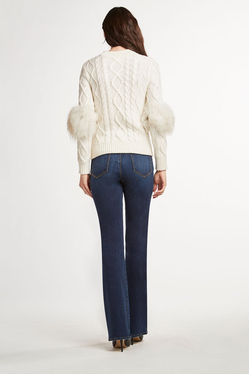 Audrey Cable Knit Sweater