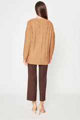 Fei Cable-Knit Sweater