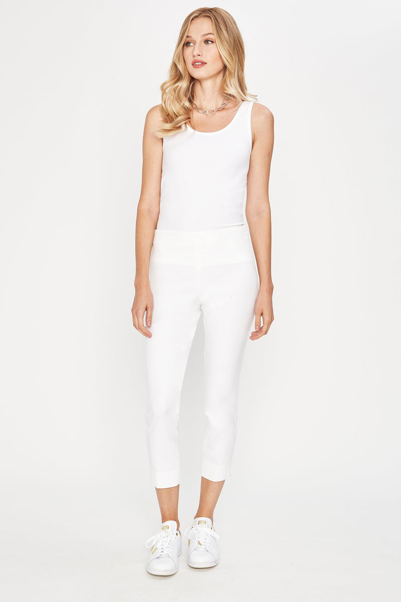 Juliette Cropped Skinny Stretch-Twill Pant