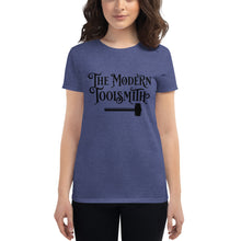 Load image into Gallery viewer, The Modern Toolsmith Original (Black Print) Women's Fit T-Shirt