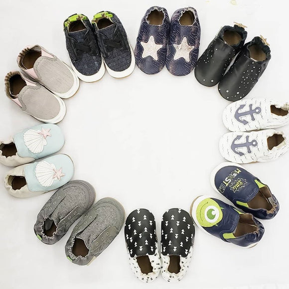 We carry a wide variety of NEW Robeez footwear