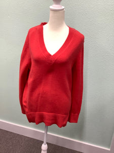 Women's Banana Republic cotton/poly Red Size M Sweater2B