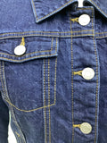 Women's Banana Republic Sherpa Denim Lined Jacket Size S 2A