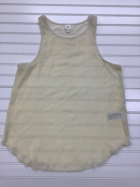 Gap French Vanilla Size S Velvet Tank Top 1C