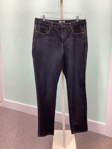 Coldwater Creek City Fit Dark Wash Jeans Size 14 2A