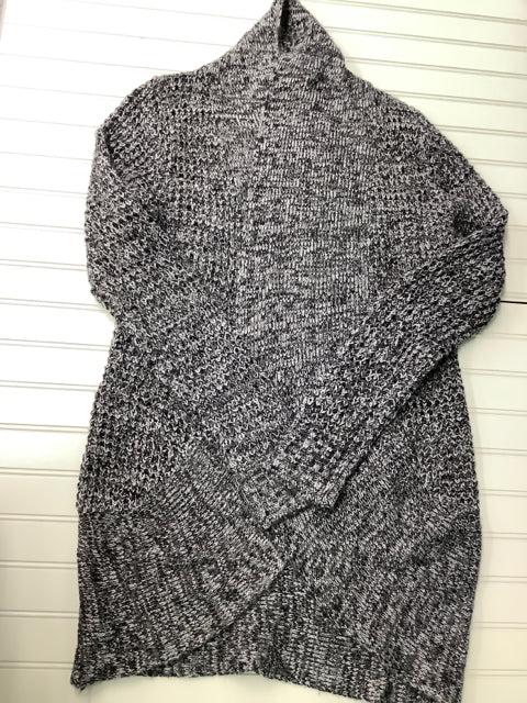 Bobbie Brooks Black & Gray  Size Large Cardigan 1B