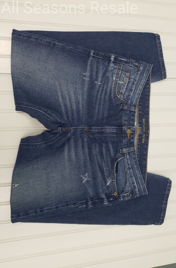 Michael Kors Boyfriend Distressed Jeans Size 6 2B