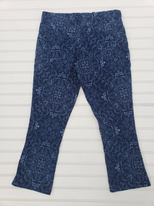 MIXIT Juniors/Womens Blue Cropped Jegging Size Smalll 1A