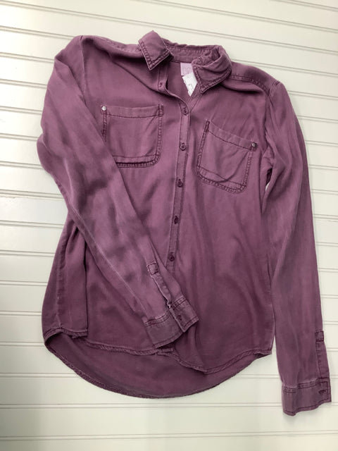 Nordstrom BP Brand LS Purple Top Size XS 1C