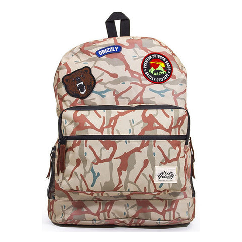 BAG GRIZZLY OUTDOOR GOODS BLACK CAMO