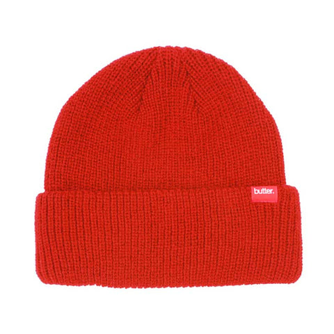 BEANIE BUTTER GOODS WHARFIE RED