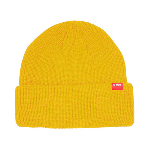 BEANIE BUTTER GOODS WHARFIE YELLOW