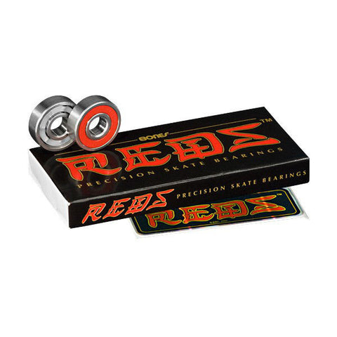 BEARINGS BONES REDS SET8