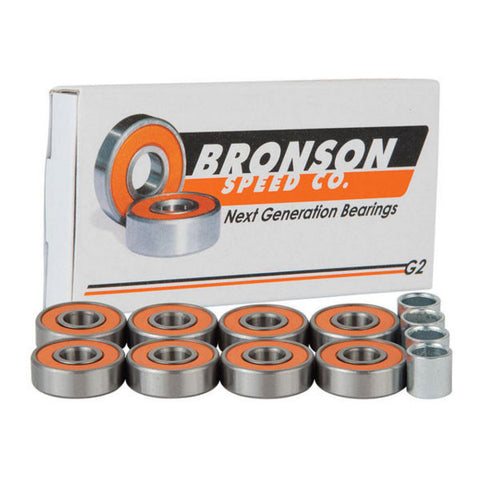 BEARINGS BRONSON G2 SET 8